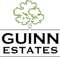 Guinn Estates logo design
