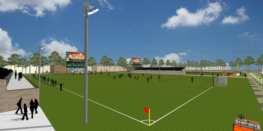 UTT Football Stadium Field