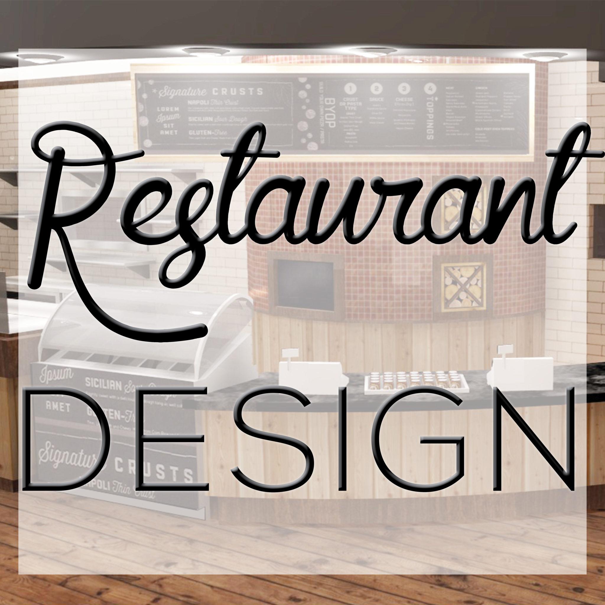 Restaurant space planning