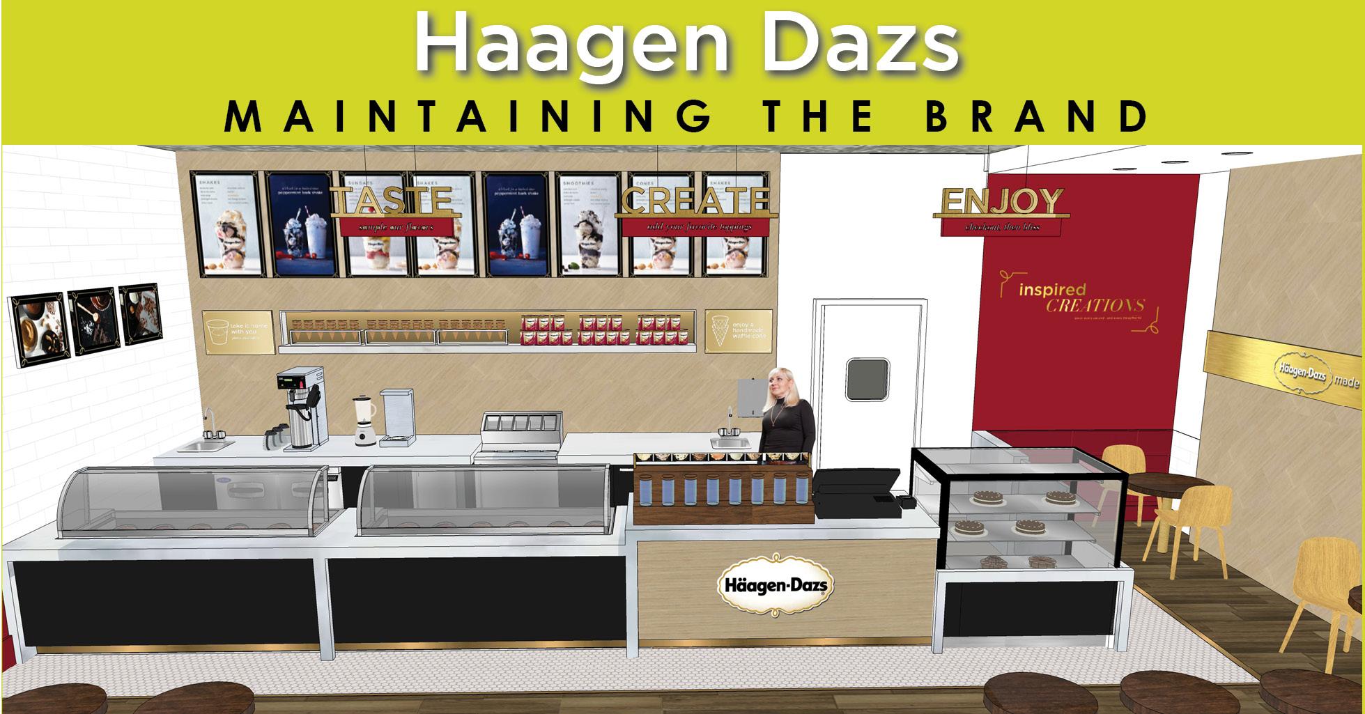 Haagen Dazs I maintaining the Brand
