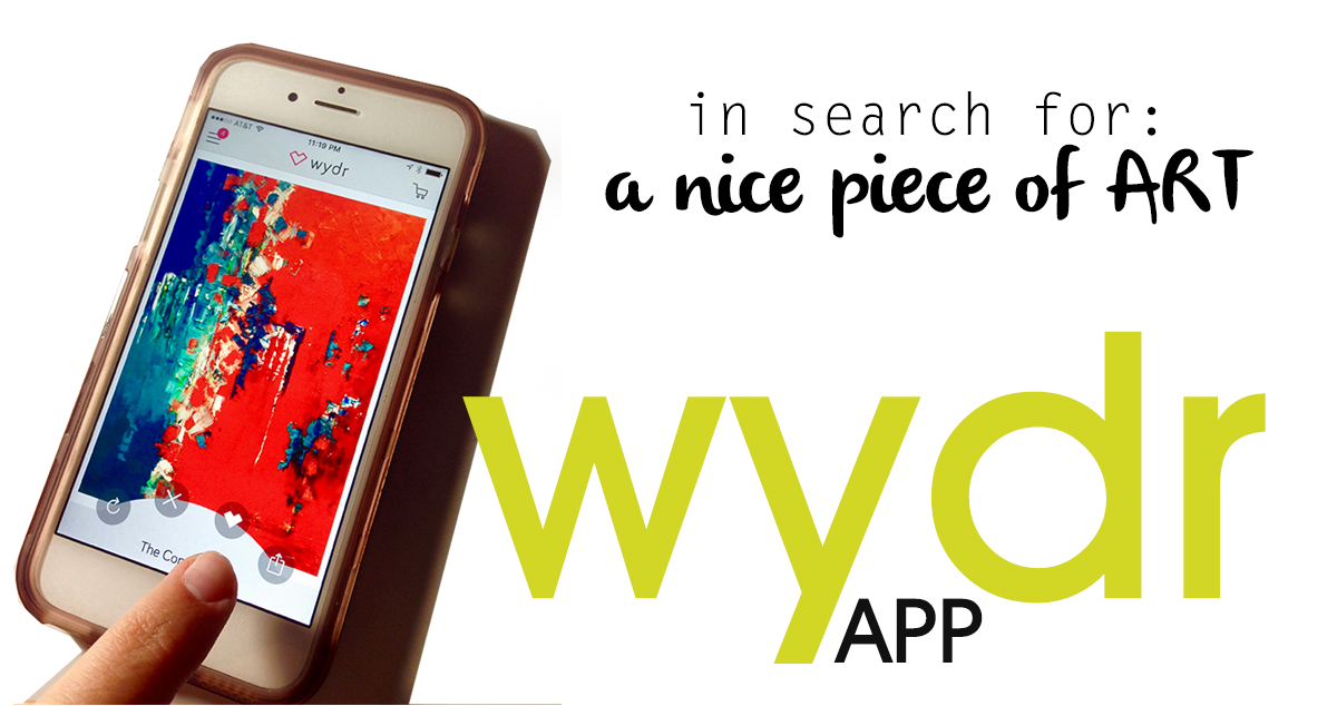 WYDR: the tinder app for ART LOVERS