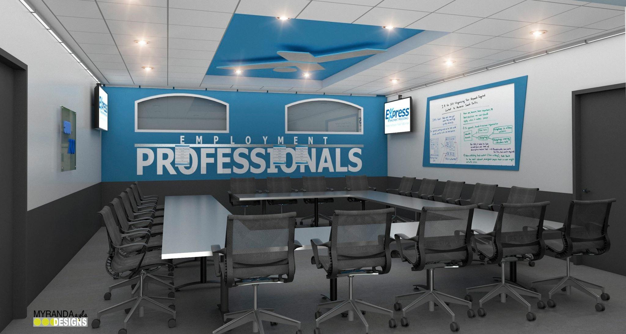 Express Employment Training Room Renovation